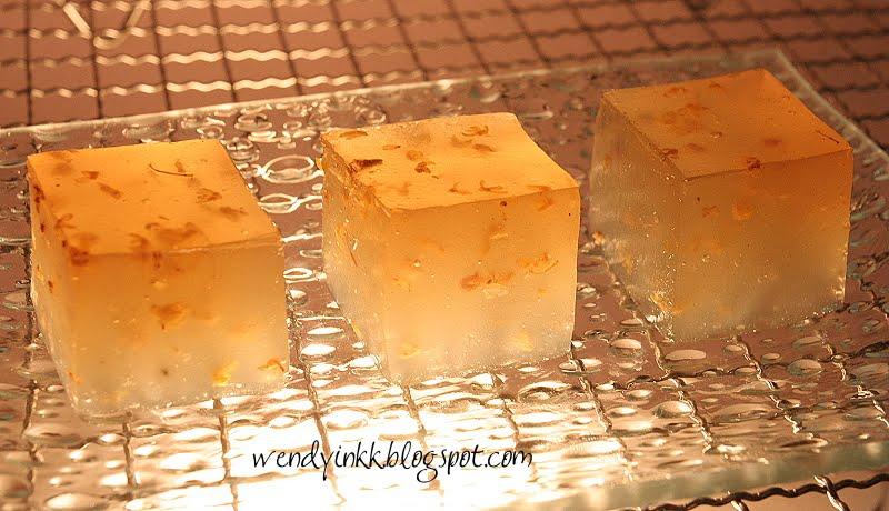 Osmanthus Rice Cake Recipe