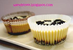 Condense Milk Bake Mini Cheese Cake