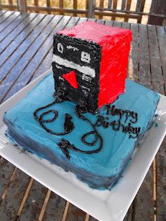 Mid Craft Crisis Tim S Birthday Cake