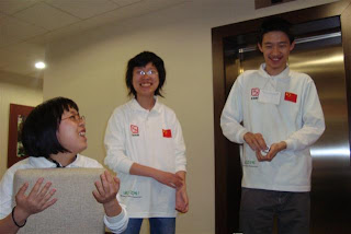 Team China @ 4th World Sudoku Championship 2009 Zilina Slovakia