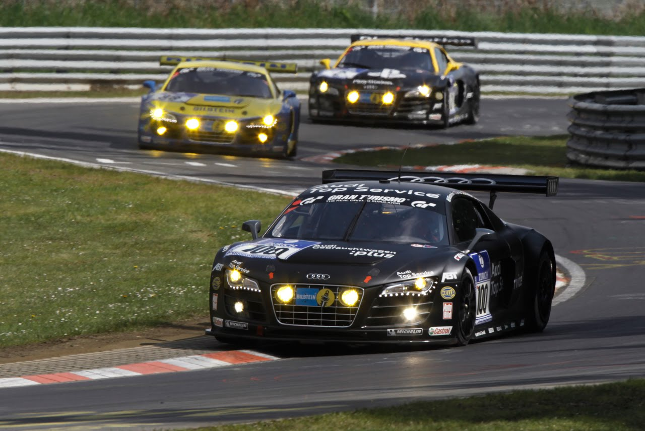 audi r8 lms wins gt3 class takes 3rd overall at n rburgring 24 hours. Black Bedroom Furniture Sets. Home Design Ideas