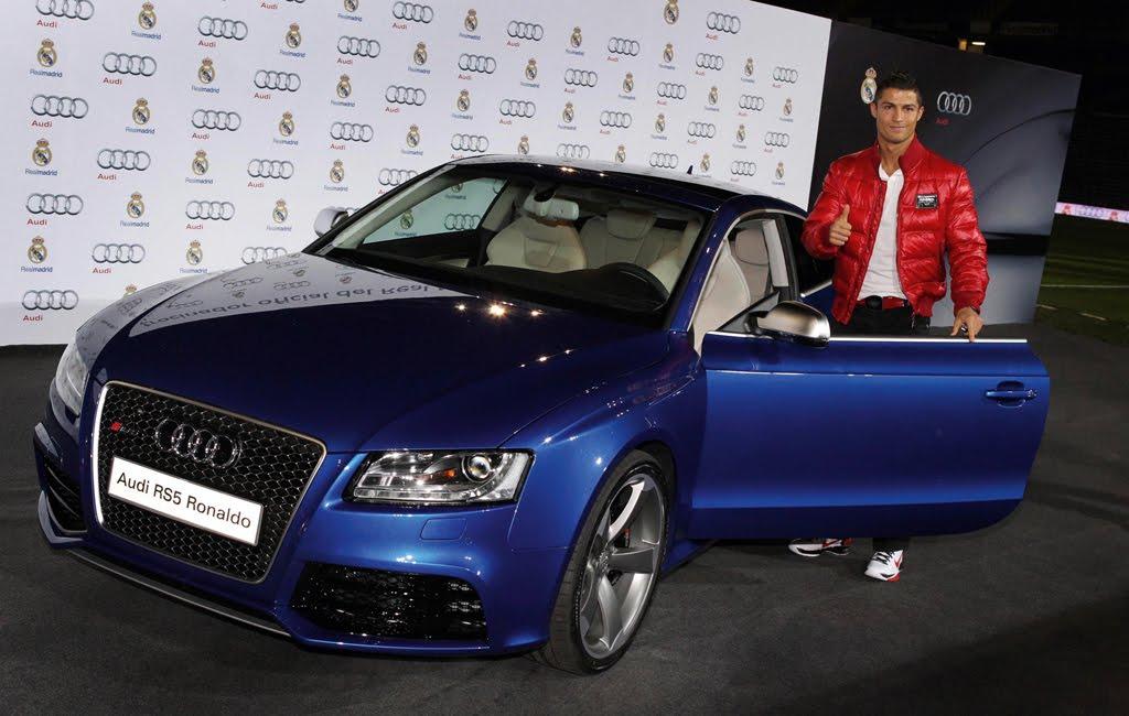 Audi Q7 E Tron >> Cristiano Ronaldo picks up his new Audi RS5 | quattroholic.com