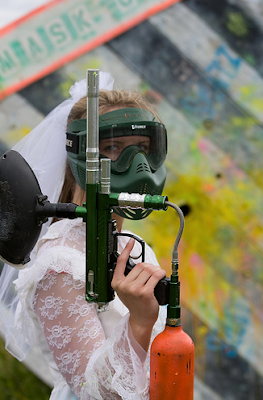 The Paintball Bride