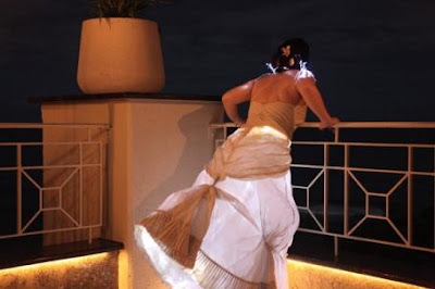 The Fiber-optic Wedding Dress