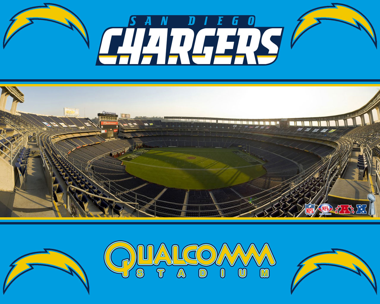 Qualcomm stadium San Diego Chargers wallpaper Qualcomm Stadium Chargers Wallpaper