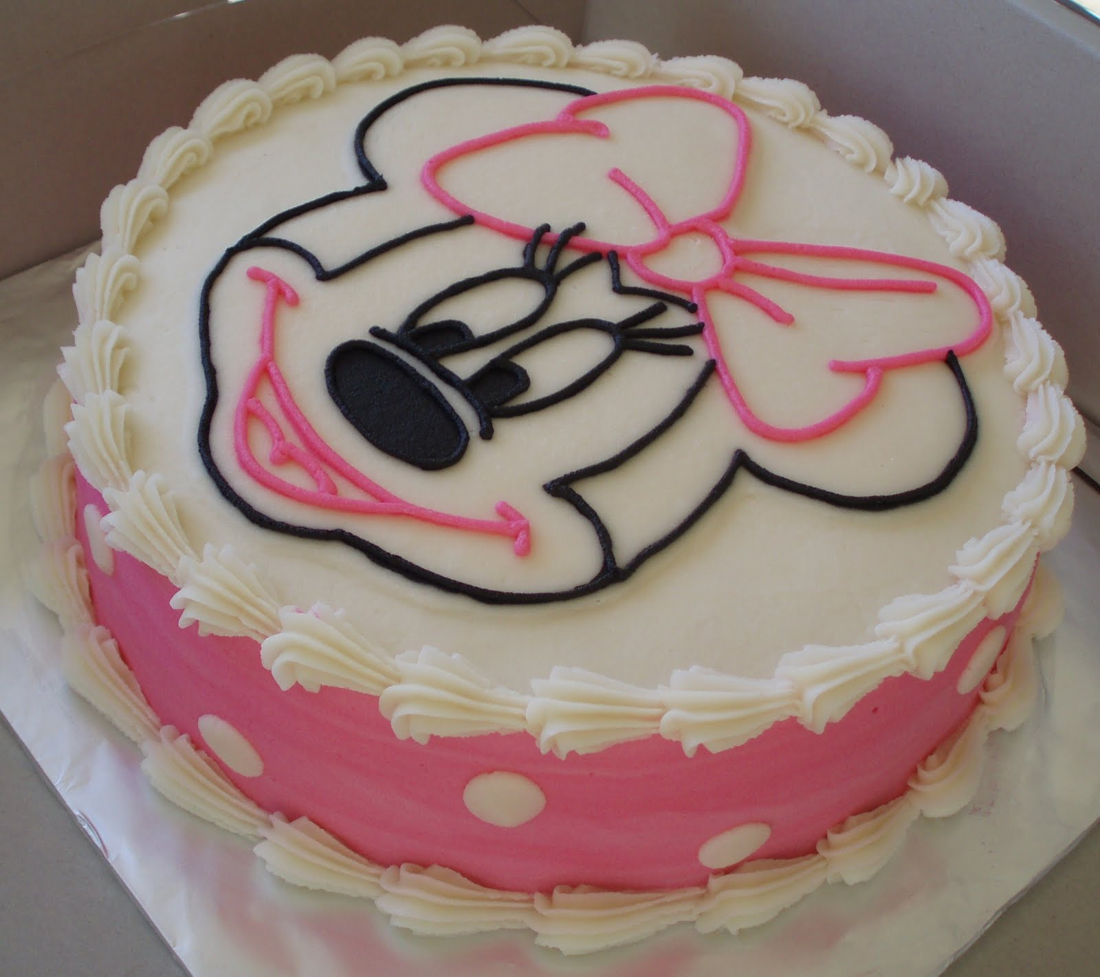 Pin images of printable minnie mouse head template if they for Minnie mouse cake template free