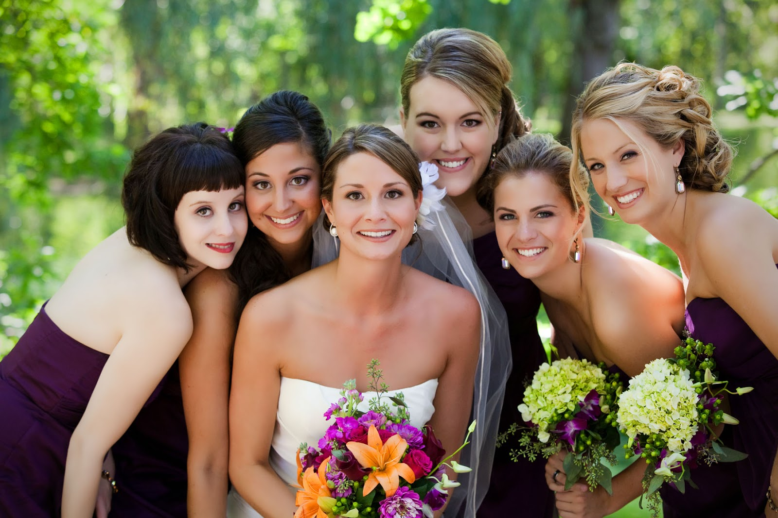 a-list makeup artistry- bridal makeup: katie's wedding day