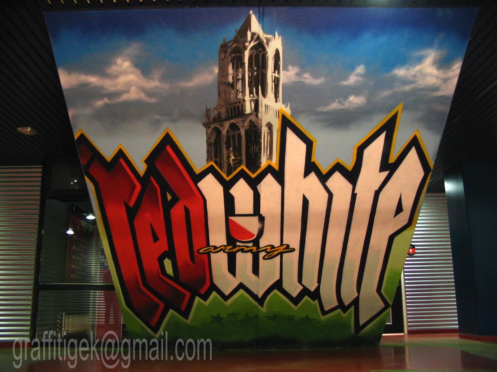 Graffiti Voetbal Utrecht