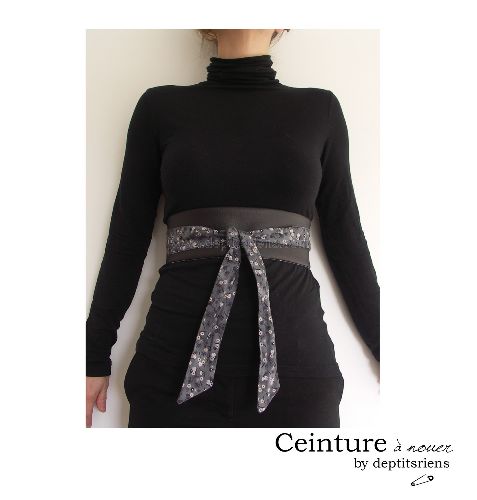 fa2d3b3de21 On peut aussi la porter façon japonaise ou femme enceinte... c est comme on  veut et c est selon son humeur!!