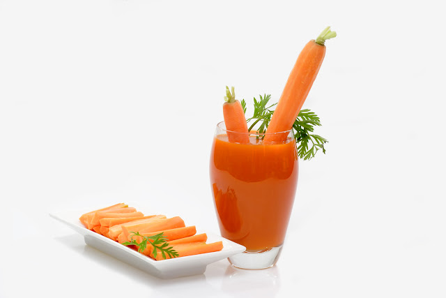 health on orange juice or carrot juice has more sugar in it