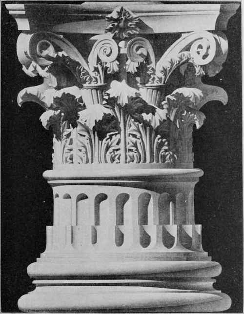 In The Area Of Decorative Sculpture Corinthian Order Was Most Widely Used Oldest Building With Columns