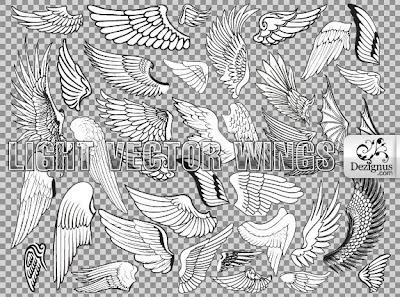 vectores de alas