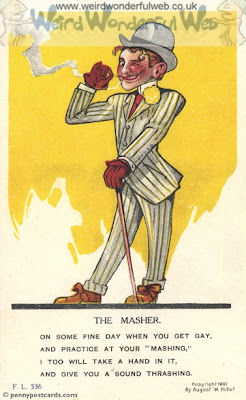 IMAGE:Old-fashioned postcard-The Masher