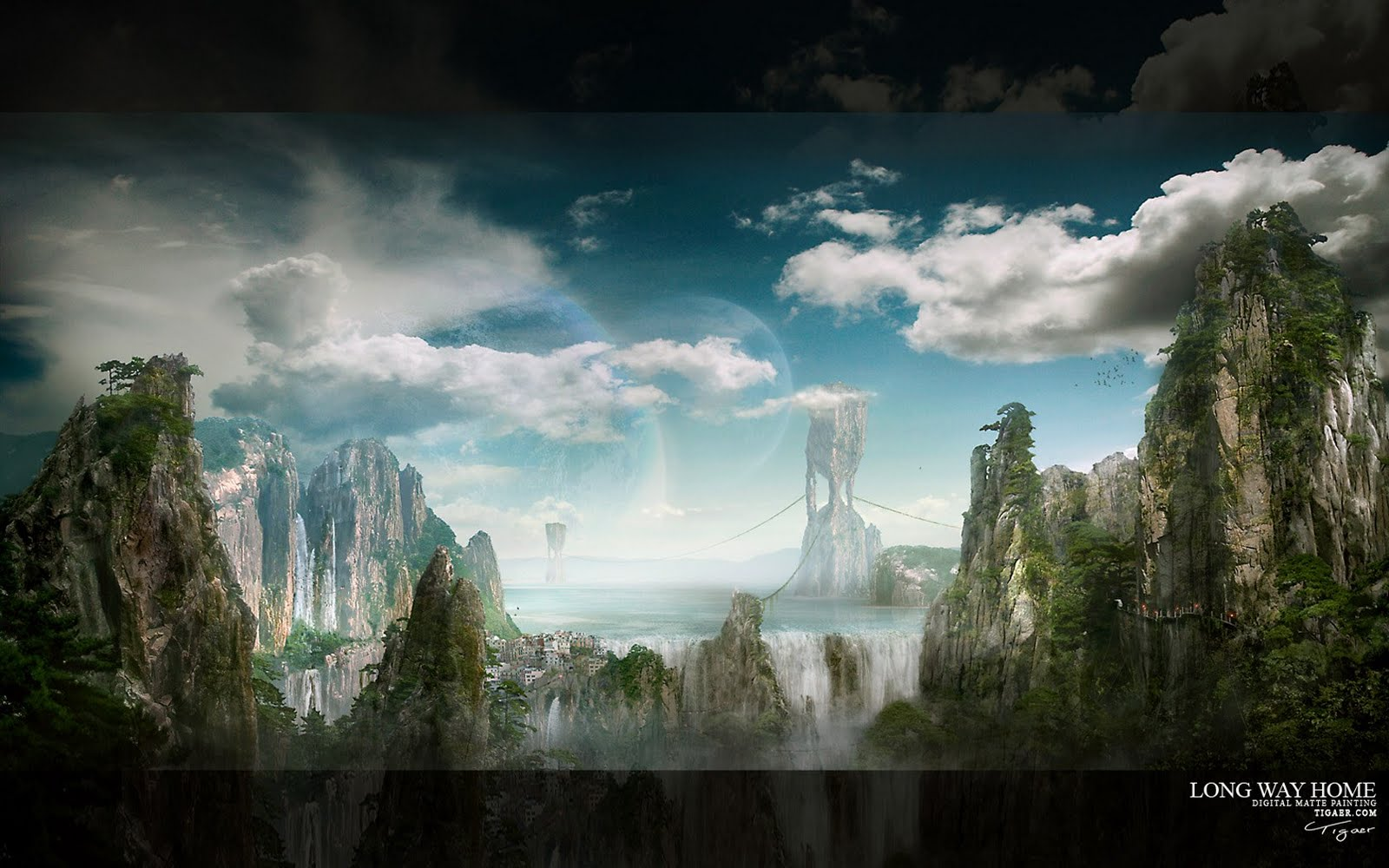 Anime Glass Wallpaper Strictly Wallpaper Imaginary Worlds Wallpapers 3
