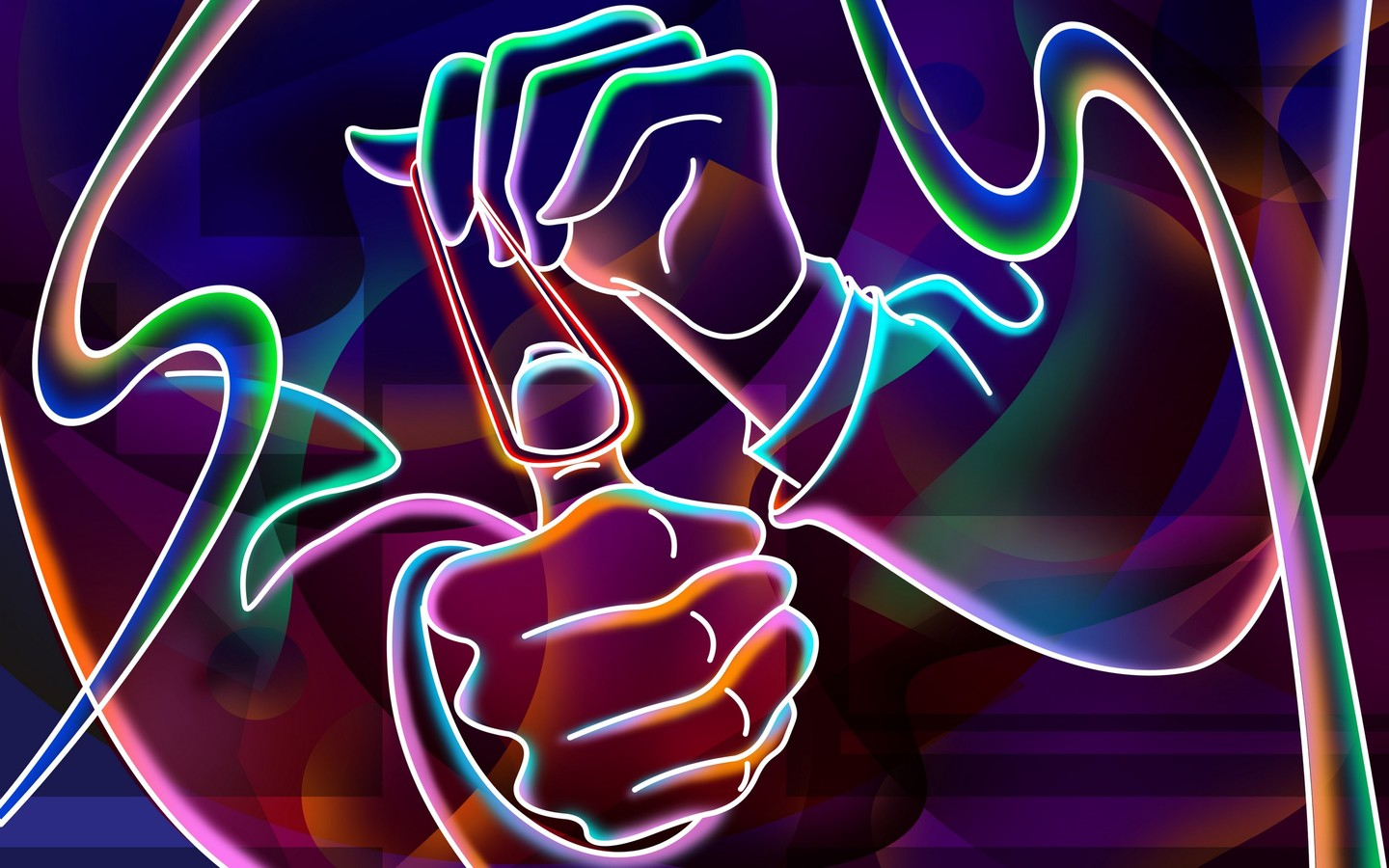 Strictly Wallpaper Neon Wallpapers 3