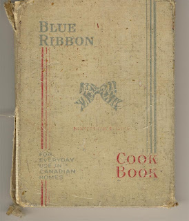 It Is The Blue Ribbon Cook Book 19th Edition Copyright By Manufacturing Company