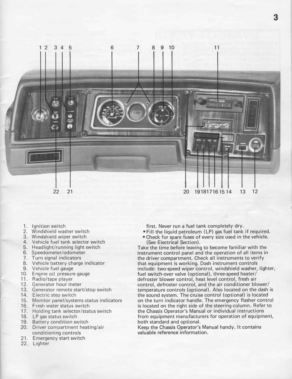 1983 Fleetwood Pace Arrow Owners Manual