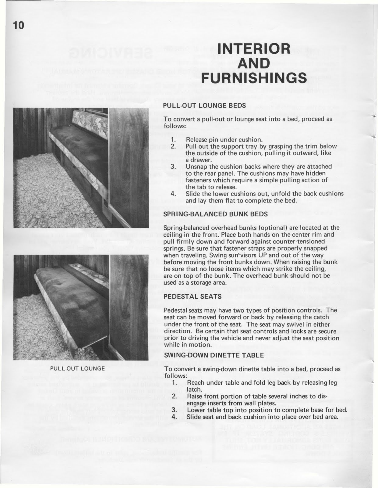1983 fleetwood Southwind owners Manual
