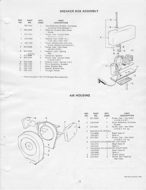 1983 Fleetwood Pace Arrow Owners Manuals Onan Bfa Rv Genset Parts