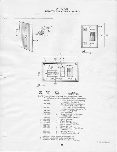 1983 Fleetwood Pace Arrow Owners Manuals Onan Bfa Rv