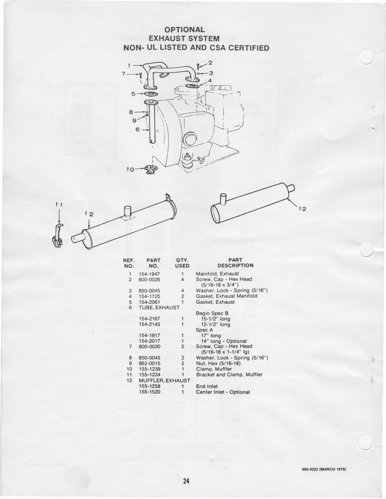 Fleetwood Pace Arrow Owners Manuals Onan Bfa Rv