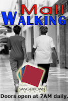 Nieuwe sport: Mall walking!