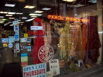 Shop The Garment District Nyc Fabric Store Review Paron S Fabrics