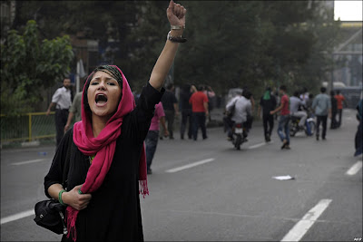 Riots have broken out in Iran to protest what is being called a rigged election.