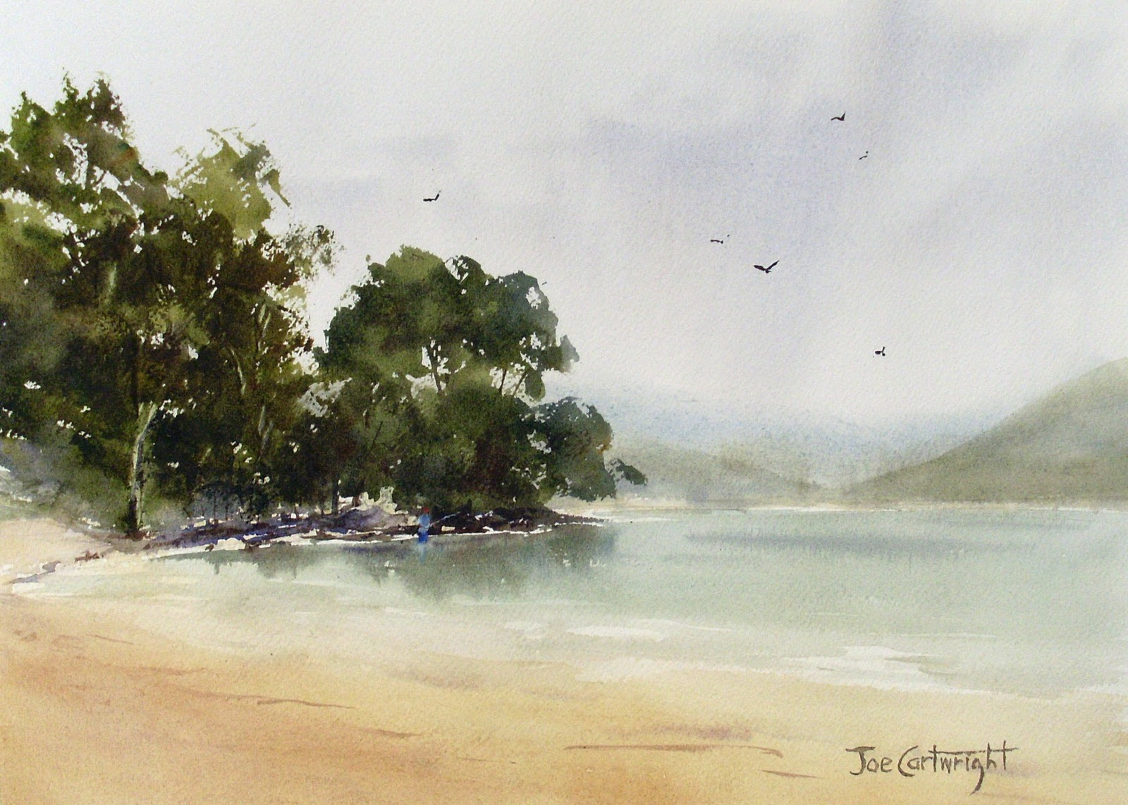 Joe Cartwright S Watercolor Blog Plein Air Painting With