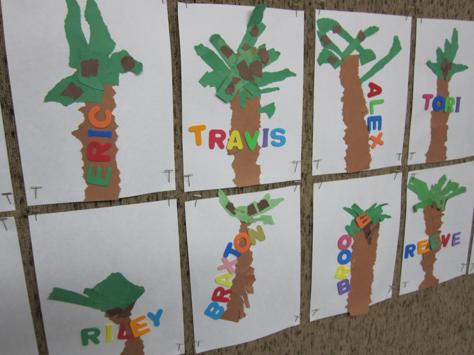 Art At East Union And More Kindergarten Name Art