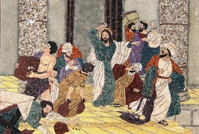 Resultado de imagen para  Lucas 19,45-48