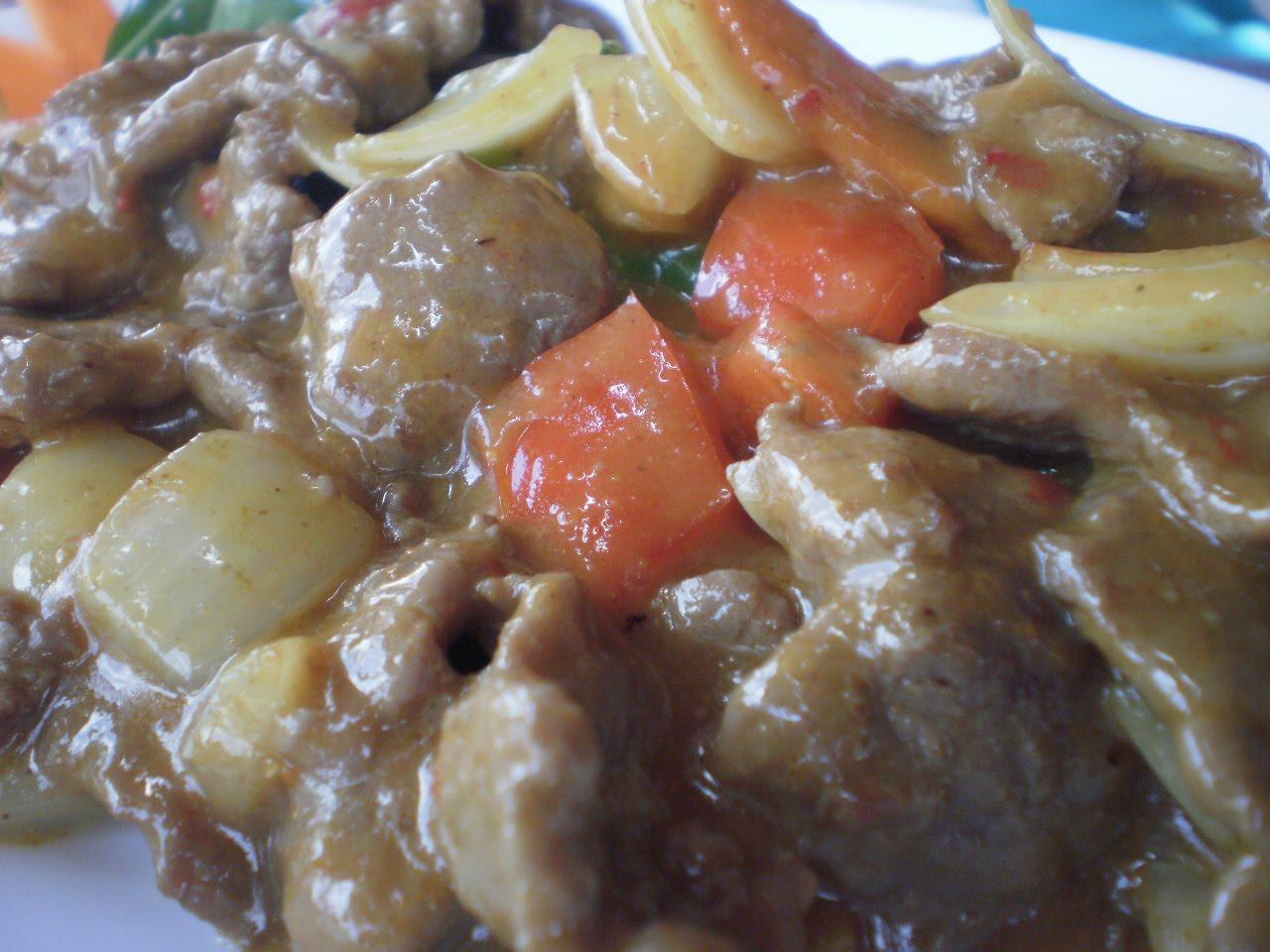Carne al curry picante