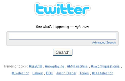 UK election Twitter Trends results night 2330