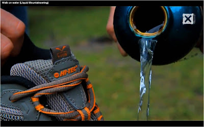 Liquid Mountaineering Hi Tec shoe Walk On Water