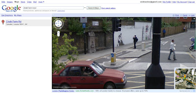 Streetview Maid in Camden photographer