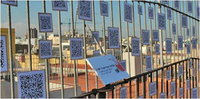 QR tales 2008 outdoor exhibition