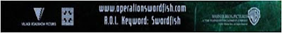 AOL Keyword Swordfish movie poster
