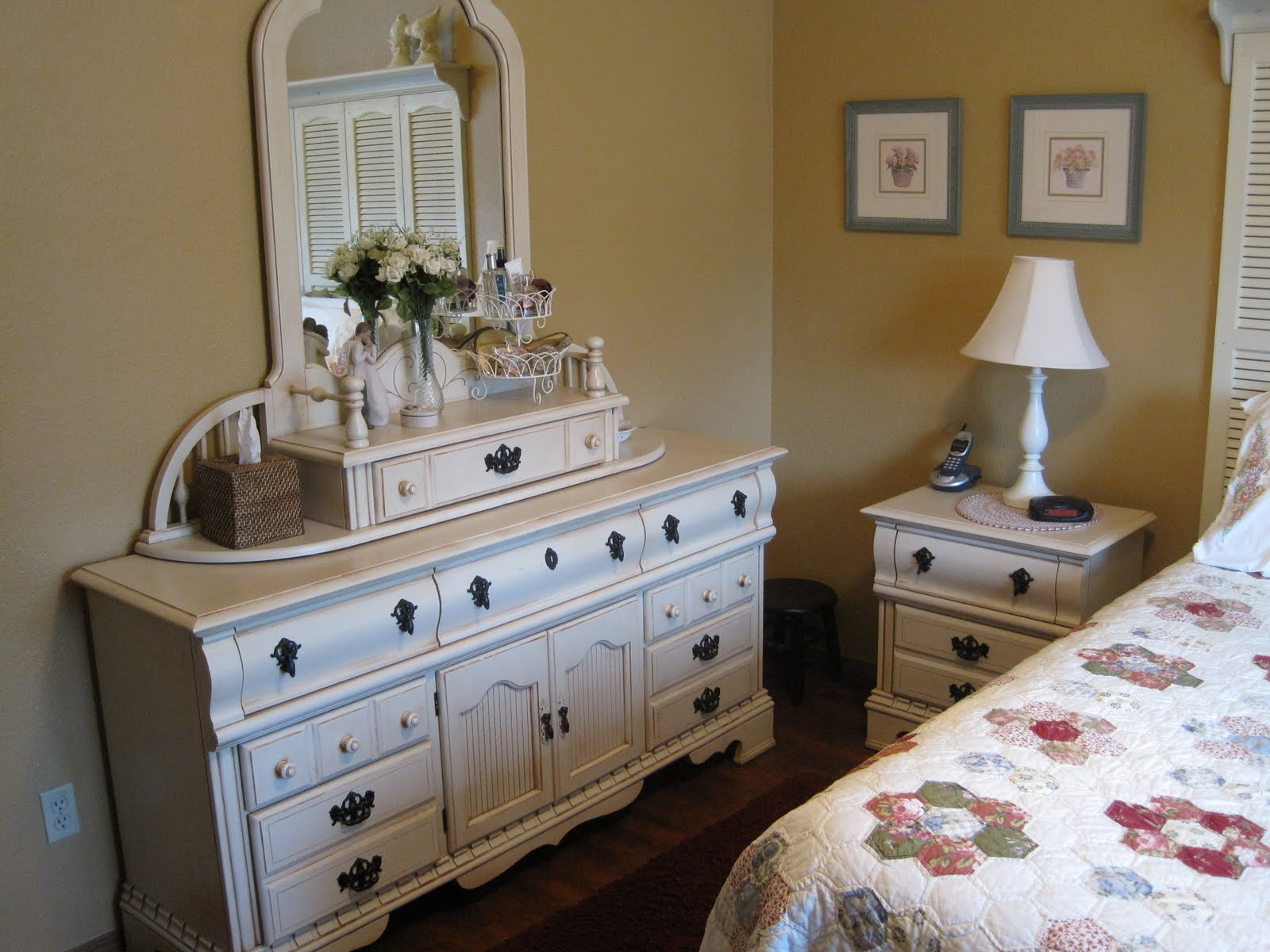 Nothing But Blue Skies Master Bath Before And After: Cherished Treasures: Before And After
