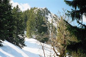 5 Bad Wiessee - Blick auf Gipfel Fockenstein