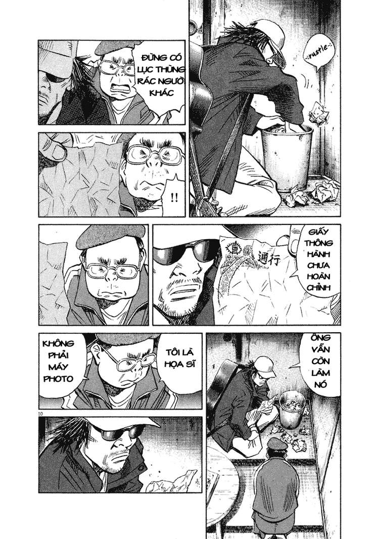 20th Century Boys chapter 207 trang 19