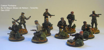 Caesar 1/72 French Resistance
