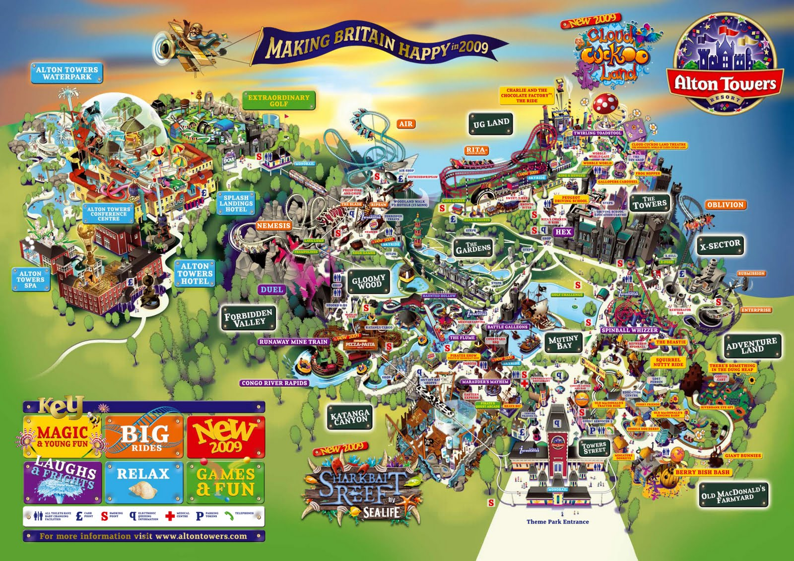 What Is Good Maps Of Alton Towers
