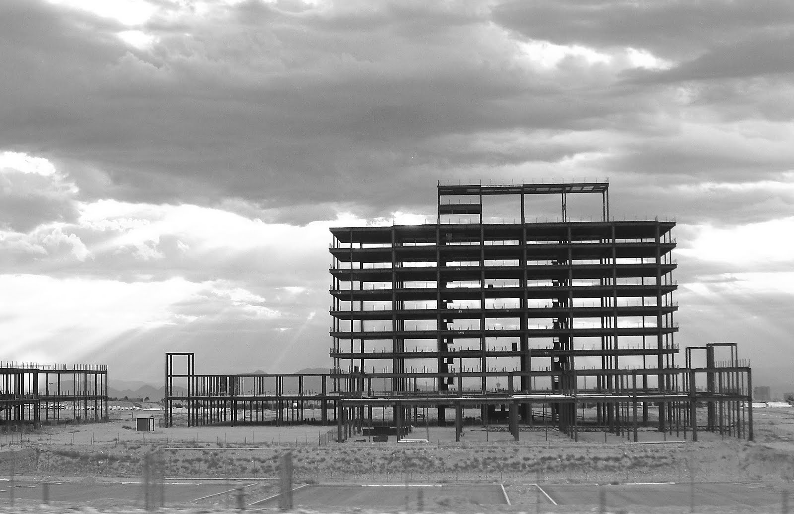 Abandoned construction project