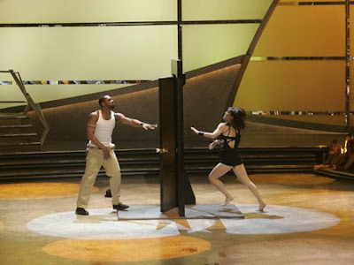 Katee and Twitch performed Mia Michaels Emmy nominated Door routine from last season on tonights top six results show.