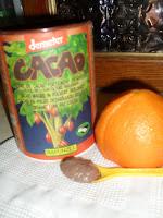 maschera viso cioccolato arancia fatta in casa