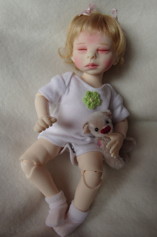 The Fashion Doll Review Baby Bjd Sweet Pea By Kim Lasher