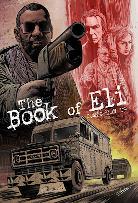 Is eli blind in the movie the book of eli