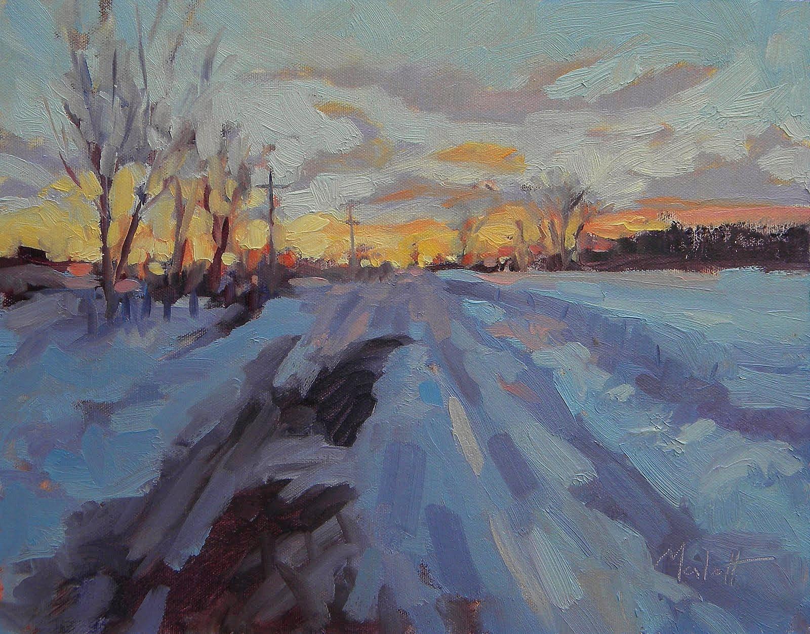 impressionism art landscape - photo #30