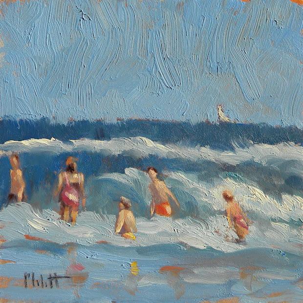 Impressionist Beach Paintings