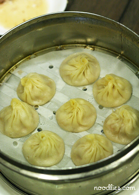 noodlies steamed pork dumplings